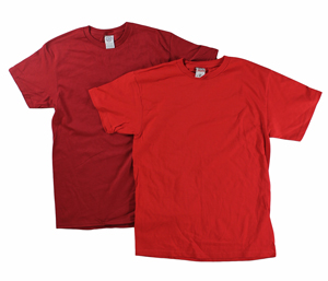 RGRiley | Adult Red Short Sleeve T-Shirts | Closeout