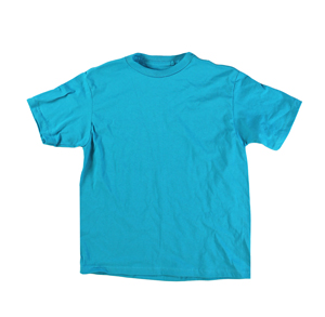RGRiley | Mixed Brands Youth Teal Short Sleeve T-Shirts | Closeout