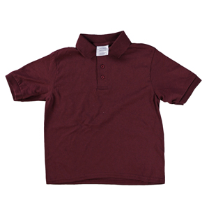 RGRiley | Youth Boys Merlot Polo Shirts | Irregular