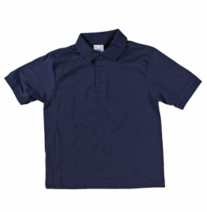 RGRiley | Youth Boys Navy Polo Shirts | Irregular