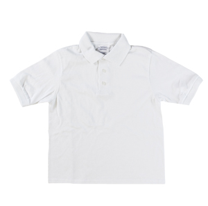 RGRiley | Youth White Polo Shirts | Irregular