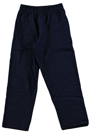 RGRiley | Youth Boys Bulk Black Sweatpants | Hanes Irregular