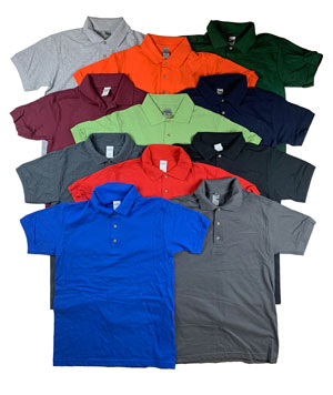 RGRiley | Gildan Mens Pique Polo Shirts | Irregular