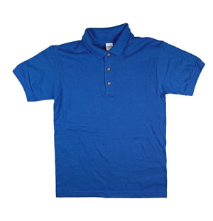 RGRiley | Gildan Mens Royal Pique Polo Shirts | Irregular