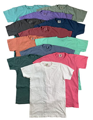RGRiley | Comfort Color Mens Crew Neck T-Shirts | Mill Graded
