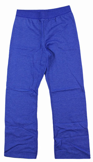 RGRiley | Womens Bulk Serac Heather Blue Sweatpant | Hanes Closeout