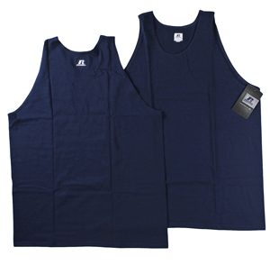 RGRiley | Mens Russell Navy Tank Tops | Closeout