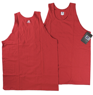 RGRiley | Mens Russell True Red Tank Tops | Closeout