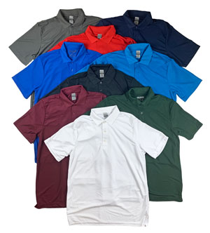 RGRiley | Mens Pique Polo Shirts | Mill Graded
