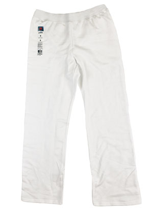 RGRiley | Womens Bulk White Sweatpants | Hanes Clsoeout