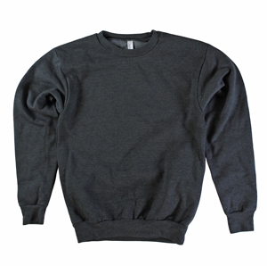 RGRiley | American Apparel Dark Heather Fleece Crew Sweatshirts | Irregular