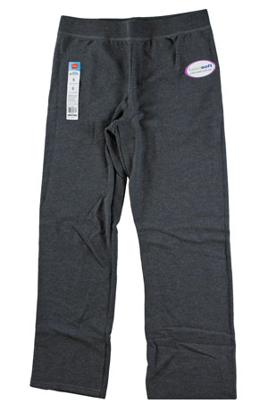 RGRiley | Womens Bulk Slate Heather Sweatpant | Hanes Closeout