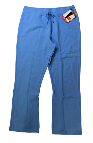RGRiley | Womens Carloina Blue Fleece Sweatpants | Closeout