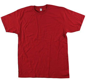 RGRiley | Bulk Cardinal 4.3 Ounce Tee Shirt | Closeout