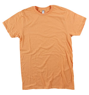 RGRiley | Bulk Faded Orange 4.3 Ounce Tee Shirt | Closeout