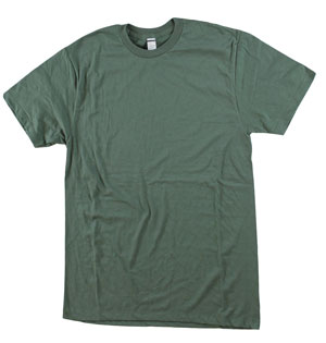 RGRiley | Bulk Olive 4.3 Ounce Tee Shirt | Closeout