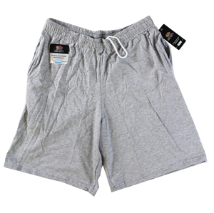 RGRiley | Mens Jersey Grey Heather Pocket Shorts | Closeout