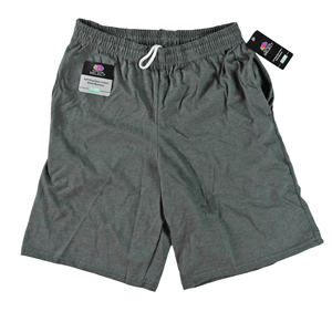 RGRiley | Mens Jersey Charcoal Pocket Shorts | Closeout