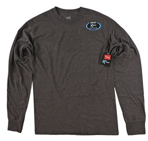 RGRiley | Adult Long Sleeve Truffle Heather T-Shirts | Bulk Wholesale Closeout