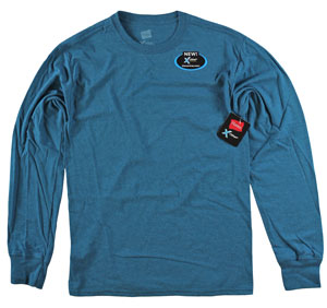 RGRiley | Adult Long Sleeve Peteo Heather T-Shirts | Bulk Wholesale Closeout
