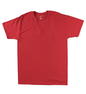 RGRiley | Mens Tall Salsa Red Jersey T-Shirts | Closeout