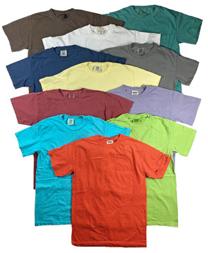 RGRiley | Comfort Color Mens Pocket T-Shirts | Mill Graded