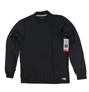 RGRiley | Russell Athletic Adult Black Long Sleeve T-Shirts | Closeout