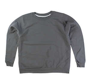 RGRiley | Gildan Womens Sports Grey Crew Neck Sweatshirts | Irregular