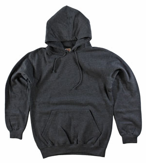 RGRiley.com | Mens Bulk Dodger Dark Heather Hooded Sweatshirts | Closeout