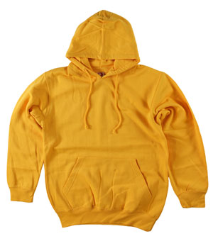 RGRiley.com | Mens Bulk Dodger Gold Hooded Sweatshirts | Closeout