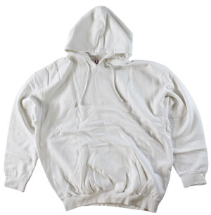 RGRiley.com | Mens Bulk Dodger White Hooded Sweatshirts | Closeout