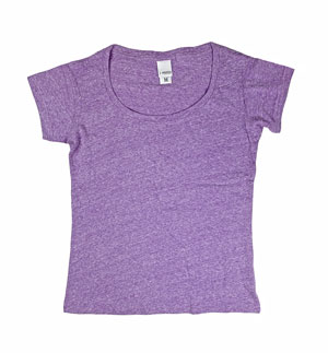 RGRiley | J.America Womens Amythyst Scoopneck T-Shirts | Closeout
