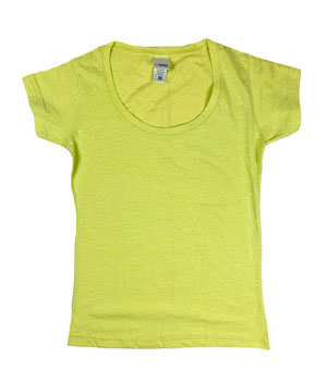 RGRiley | J.America Womens Applentini Scoopneck T-Shirts | Closeout