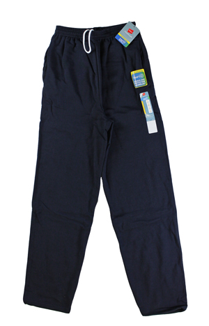 RGRiley | Hanes Mens Navy Sweatpants | Closeout