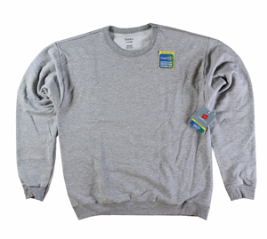 RGRiley | Hanes Mens Light Steel Fleece Crew Neck Sweatshirts | Closeout