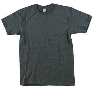 RGRiley.com | Adult 5.5 oz 100% Cotton Bulk Charcoal Tee Shirts | Closeout