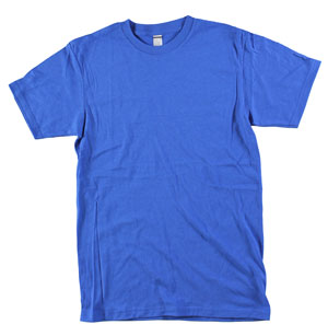 RGRiley.com | Adult 5.5 oz 100% Cotton Bulk Royal Tee Shirts | Closeout