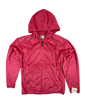 RGRiley | J.America Womens Wildberry Shag Zipper Hoods | Closeout