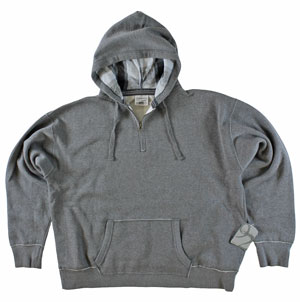 RGRiley.com | Mens Bulk Pull Over Hood Smoke | J. America Closeout