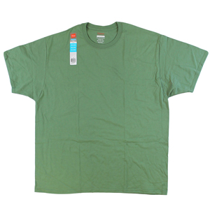 RGRiley | Bulk Big Mens Comfort Blend Green T-Shirts | Hanes Closeout