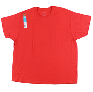 RGRiley | Bulk Big Mens Comfort Blend Engine Red | Hanes Closeout
