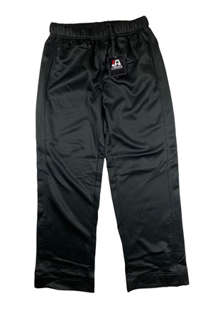 RGRiley | J. America Mens Black Polyester Sweatpants | Closeout