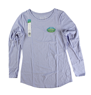 RGRiley | Hanes Womens Land Ice Tri Blend Long Sleeve T-Shirts | Closeout