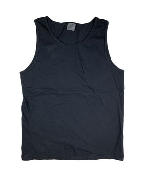 RGRiley | Comfort Color Mens Black Tank Tops | Mill Graded