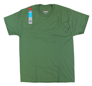 RGRiley.com | Adult Comfort Blend Martini Green T-Shirts | Closeout