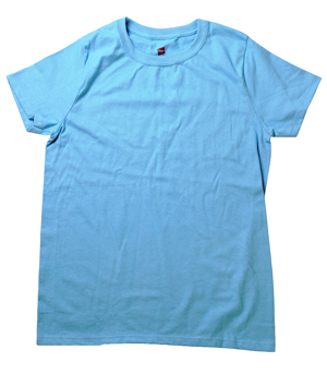 RGRiley.com | Womens Plus Size Aqua Blue T-Shirts | Closeout