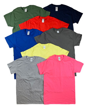 style AD200 |Mens Irregular Color T-Shirts