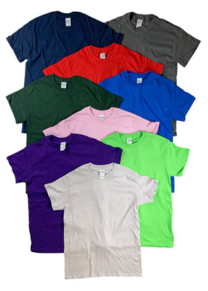 style AD500 |Mens Irregular Color T-Shirts