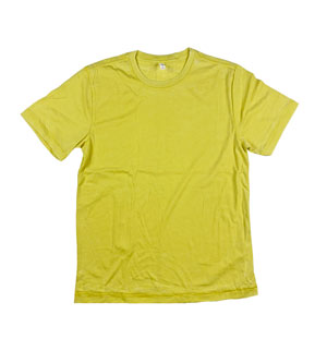 RGRiley | A2Z Youth Marbled Yellow Crewneck T-Shirts | Closeout