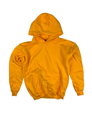 RGRiley | Gildan Youth Gold Pullover Hoodies | Irregular